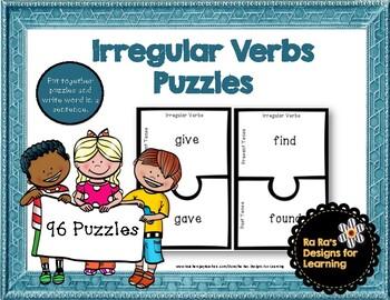 Irregular Verbs Puzzles