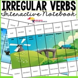 Irregular Verbs Game Puzzles - Editable Present, Past, Pas