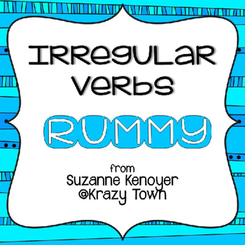 Irregular Verbs Rummy Game