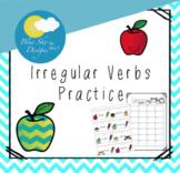 Irregular Verbs Practice