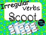 Irregular Verbs Scoot Game -40 Cards & Answer Key