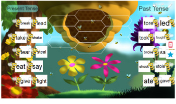 Irregular Verbs Smart Lab Interactive Whiteboard Activities