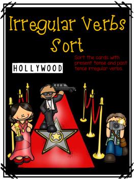 Irregular Verbs Sorting Activity