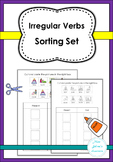 Irregular Verbs Sorting Set