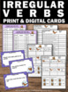Irregular Verbs Task Cards for 2nd & 3rd Grade Common Core
