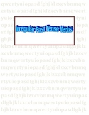 Irregular Verbs & Tenses