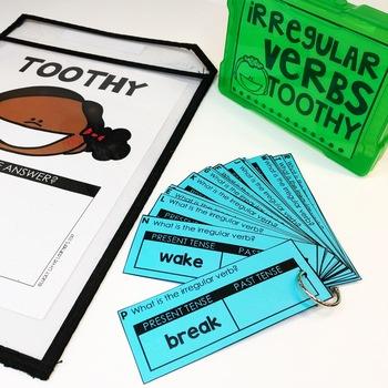 Irregular Verbs Toothy™ Task Kits