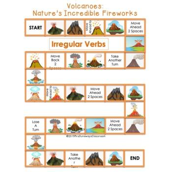 Irregular Verbs- Volcanoes: Nature's Incredible Fireworks