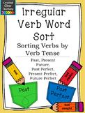 Irregular Verbs Word Sort