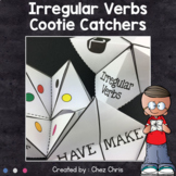 Irregular Verbs cootie catchers - Fortune tellers