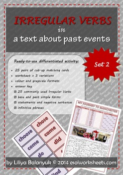 Irregular Verbs for Past Events