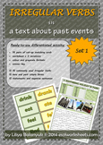 Irregular Verbs for Past Events - FREE Differentiated Activity