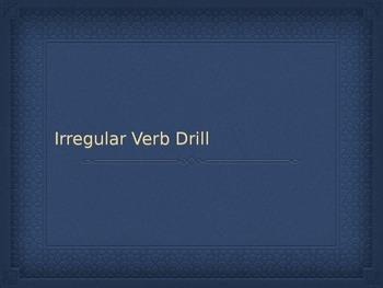 Irregular Yo Verb Drill