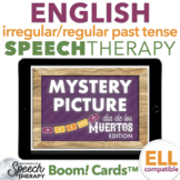 Irregular and Regular Past Tense Verbs Day of Dead Mystery Picture Boom Cards™
