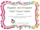 Irregular and Regular Past Tense Verbs Practice (Freebie)