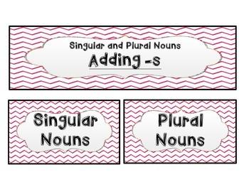 Irregular and Regular Plural Nouns *CCSS Aligned*