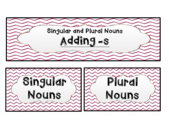 Irregular and Regular Plural Nouns *CCSS Aligned*