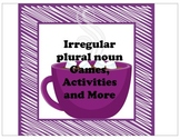 Irregular and plural nouns games and activities