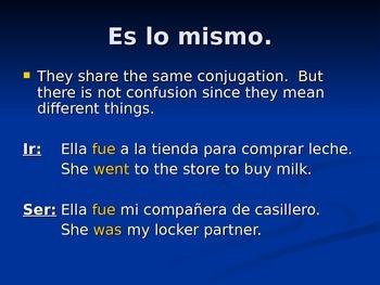 Irregular preterite verbs overview, Spanish II