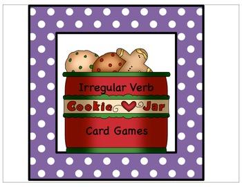 Irregular verb games