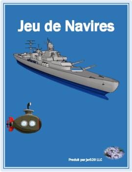 Irregular verbs I in French Bataille Navale Battleship game