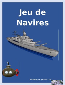 Irregular verbs IV in French Bataille Navale Battleship game