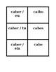 Irregular verbs Presente (Present tense in Portuguese) Concentration games