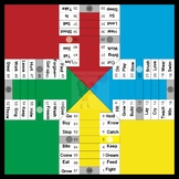 Irregular verbs boardgame (parchisi)