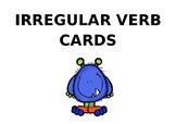 Irregular verbs cards