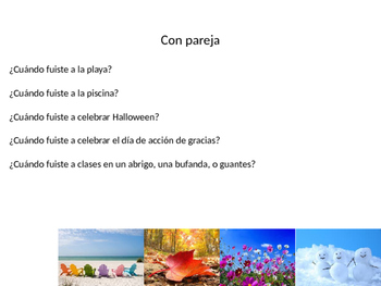 Irregular verbs in Preterito/Preterite