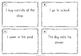 Irregular verbs past tense - task cards