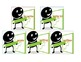 Irregular verbs picture cards & matching game, verb tenses