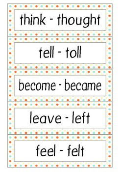 Irregular verbs_past tense