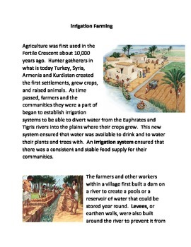 Irrigated Farming