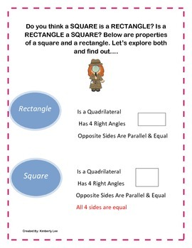 Is A Square A Rectangle?