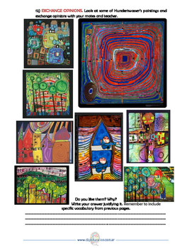 Is Art for everyone? CLIL art unit - Hundertwasser