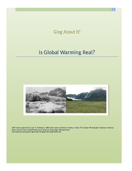 Is Global Warning Real? Glogster Unit