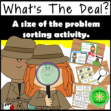 Size of the Problem, Big Deal vs Little Deal  #2sale