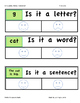 Is It A Letter, Word, Or Sentence? A Hands-on Sorting Activity