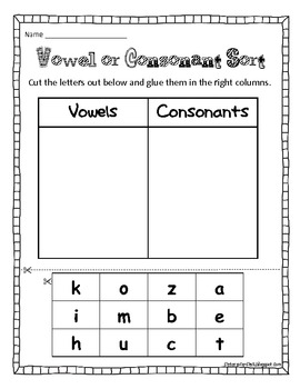 Is It A Vowel or A Consonant?