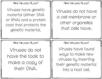 Is It Alive?: A Closer Look At Viruses (NGSS MS-LS1-1) (5E Model)