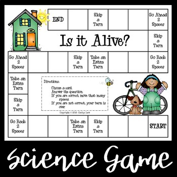 Is It Alive? - A Science Game
