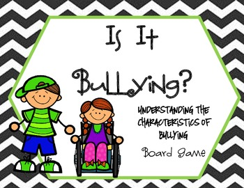 Bullying Board Game: Is It Bullying? Understanding the Characteristics
