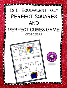 Perfect Squares and Perfect Cubes Game