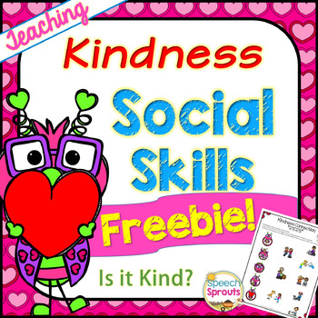 Is It Kind? A Speech Therapy Social Skills Activity