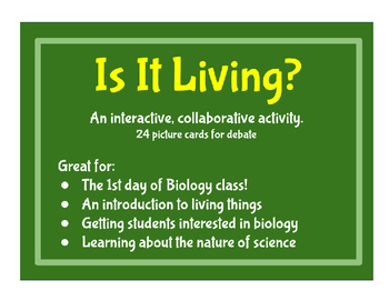 Is It Living? - An Introduction to Biology and Living Things