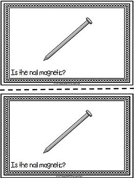 Is It Magnetic?:  Magnets Emergent Reader Book AND Interactive Activities