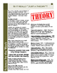 """Is It Really """"Just a Theory""""?:   Leveled Informational Text"""