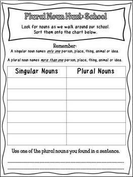 Is It Singular or Plural? (A Plural Noun MEGA Resource Pack)