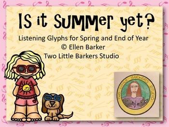 Is It Summer Yet? Listening Glyphs
